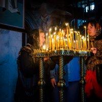 С мамой в храме... :: Сергей Офицер