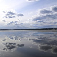Небо в зеркале :: Андрей Кириллов