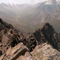 горы. фото с пика Алматинского. :: Горный турист Иван Иванов