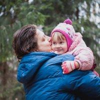 папа и дочка :: Natalya Kopyl