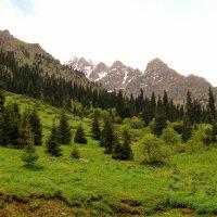 горы. Заилийский - Алатау после дождя. :: Горный турист Иван Иванов