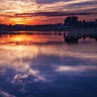 Сиренивый закат :: Александр Варшавский