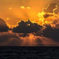 Закат на море (вариант 2) :: Василий Аникеев
