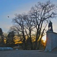 закат за Камероновой галереей :: Елена