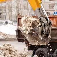 Уборка снега :: Oxana Kilina