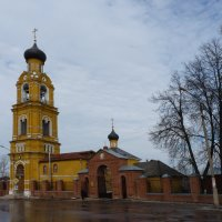 Церковь Николая Чудотворца на Селивановой горе. :: Galina Leskova