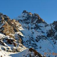 горы. :: Горный турист Иван Иванов