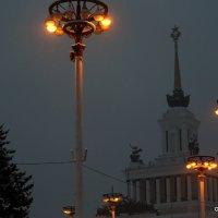 первые огоньки в короткий зимний день :: Олег Лукьянов