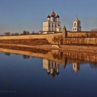 Псков. Троицкий собор. Март - 2015 :: Юрий Слюньков