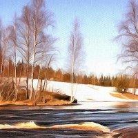 река  ЯНИС :: Ольга Cоломатина