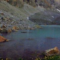 Озеро под Доломитами :: Михаил Баевский