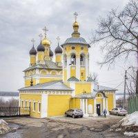 Николо - Набережная церковь в Муроме располагается на берегу реки Оки :: Марина Назарова