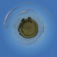 Земля в иллюминаторе. :: Яков Реймер