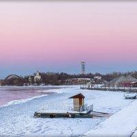 Краски уходящего февральского дня :: Denis Aksenov