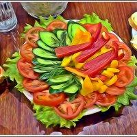 Вегетарианский салатик :: muh5257