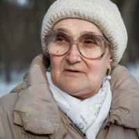 портрет на улице... :: Сергей Метальников