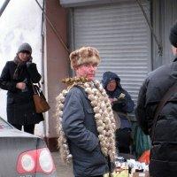 Продавець чосноку :: Степан Карачко