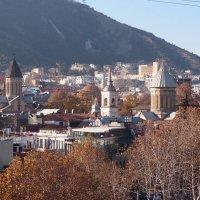 Тбилиси. Вид на центральную часть города :: Ольга Говорко