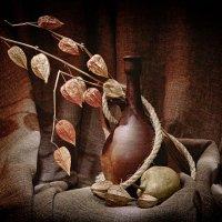 Натюрморт с кувшином и физалисом :: Андрей Куликов
