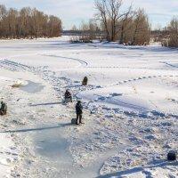 Последние дни зимней рыбалки :: Любовь Потеряхина