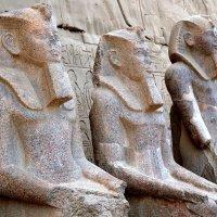 Взгляд на древности Египта с 3D эффектом :: Евгений Печенин