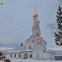 Вязьма. Иоанно-Предтеченский монастырь. Одигитриевский храм :: Алексей Шаповалов Стерх