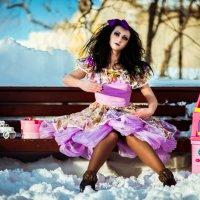 Куклу бросила хозяйка :: Алёна Николаева
