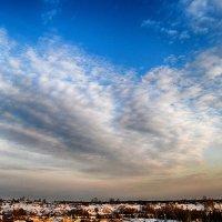 небо над поселком :: Александр Преображенский