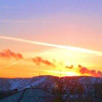 Восход солнца. :: Анатолий