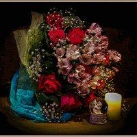 Спящий ангел в цветочном раю. :: Милена )))