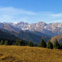 горы. осень в горах :: Горный турист Иван Иванов