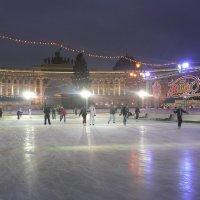 Каток на Дворцовой площади :: genar-58 '