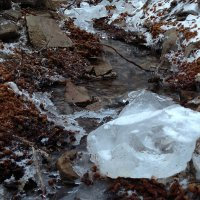 зимний ручей :: Богдан Богдан