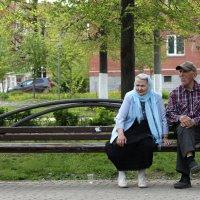 Простые, тихие, седые... :: Фома Антонов