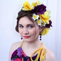 Девушка-весна :: Дарья Новикова