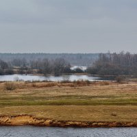 Озерцо  за  рекой. :: Валера39 Василевский.