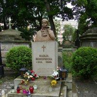 Могила  Марии  Конопницкой  в  Львове :: Андрей  Васильевич Коляскин