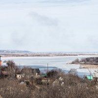 на весеннем берегу реки :: Андрей ЕВСЕЕВ