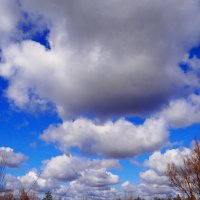 Парад облаков. :: Антонина Гугаева