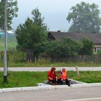 Жизнь российской глубинки... :: cfysx
