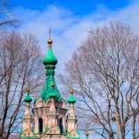 На территории Донского монастыря :: Ксения Базарова