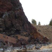 Остатки существовавшего миллионы лет назад вулкана :: Галина