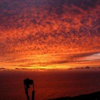 Рассвет на Азорских островах. :: Елена Тумель