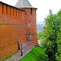 Стены Кремля и Северная башня :: petyxov петухов