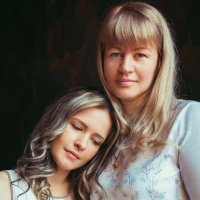 мамочка и дочка :: Александра Джусь