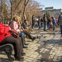 Митинг на пл. Ленина :: Николай Мелонов