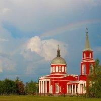 Храм Вoскресения Христoва в селе Хoтмыжск, Белгородская область :: Алиса Терновая