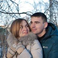 Антон и Евгения :: Юрий Попов