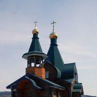 Деревенская церквушка :: Жанетта Буланкина