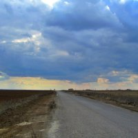 По дороге с облаками :: Vladimir Denisov